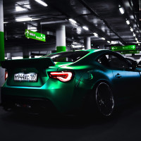 Cool  Green   Car Profile Picture