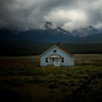 Alone  House  Clouds  Mountains  Woods Profile Picture