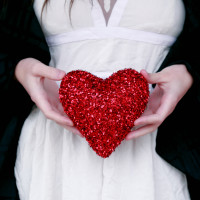 Valentines  Girl  Love  Heart  Hands  White Dress Profile Picture